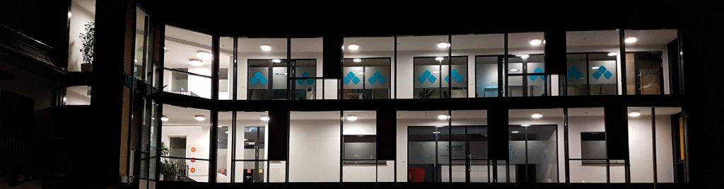 Das Zeitarbeit-Büro in Ulm von außen